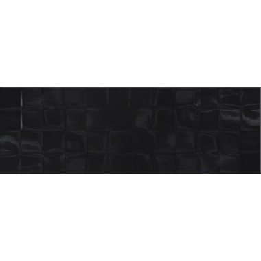Плитка SIMPLE ART BLACK GLOSSY STRUCTURE CUBES 20x60