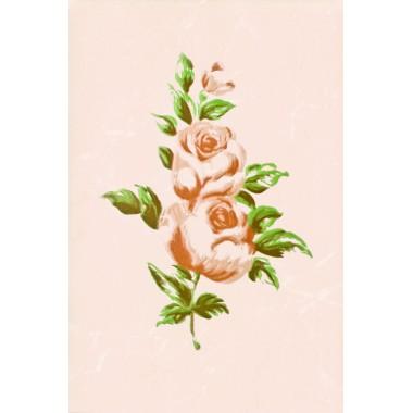 Walencja беж цветок декор 20Х30