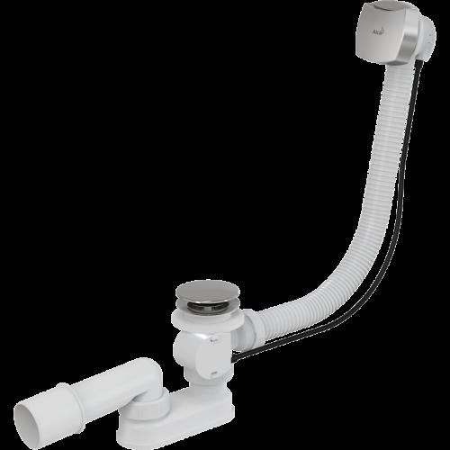 Сифон для ванны AlcaPlast полу-автоматический A51CRM