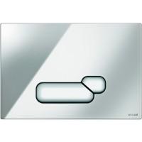 Кнопка Cersanit Actis для инст. системы глянцевый хром, S97-015