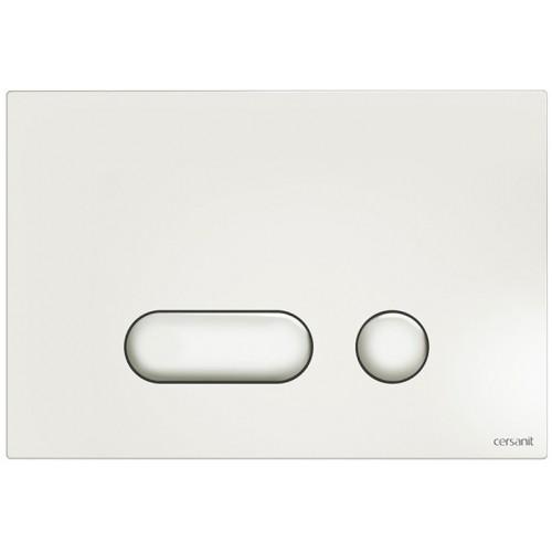 Кнопка Cersanit Intera для инст. системы белая, S97-019