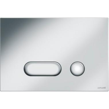Кнопка для инст. сист. Cersanit Intera матовый хром, S97-021