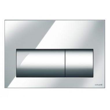 Кнопка для инст. системы Cersanit Presto глянцевый хром, K97-347