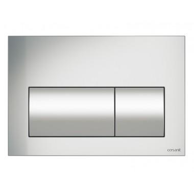 Кнопка для инст. системы Cersanit Presto матовый хром, K97-348