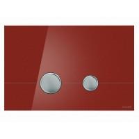 Кнопка для инст. сист. Cersanit Stero красное стекло, K97-371