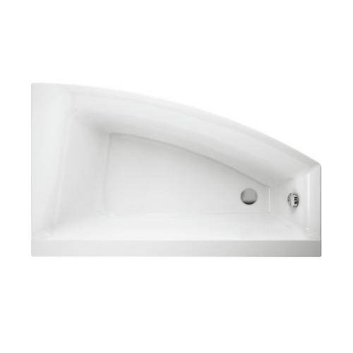 Ванна Cersanit Virgo Max 150 x 90 асимметричная правая