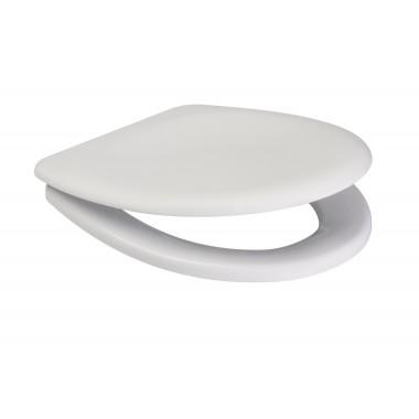 Сиденье для унитаза Cersanit Delfi K98-0191 антибактериальное, Duroplast, soft-close