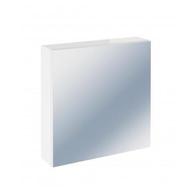Шкаф зеркальный подвесной Cersanit Easy белый