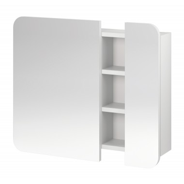 Зеркальный шкафчик Pure (белый)