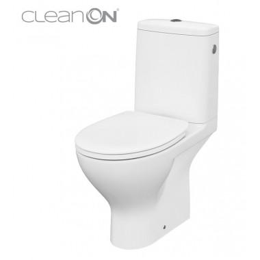 Унитаз-компакт Cersanit Moduo CleanOn 010 K116-001 с сиденьем Slim Soft Close дюропласт