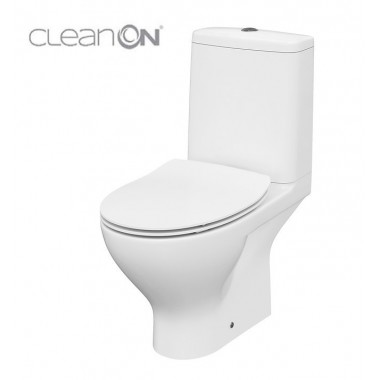 Унитаз-компакт Cersanit Moduo CleanOn 011 K116-003 с сиденьем Slim Soft Close
