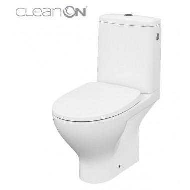 Унитаз-компакт Cersanit Moduo CleanOn 010 K116-024 с сиденьем Slim Wrap Soft Close дюропласт