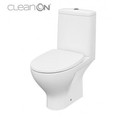 Унитаз-компакт Cersanit Moduo CleanOn 011 K116-025 с сиденьем Slim Wrap Soft Close дюропласт