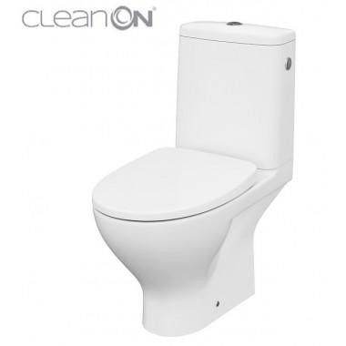 Унитаз-компакт Cersanit Moduo CleanOn 43 010 K116-030 с сиденьем Slim Soft Close дюропласт