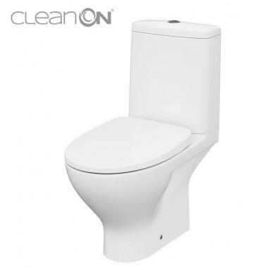 Унитаз-компакт Cersanit Moduo CleanOn 43 011 K116-035 с сиденьем Slim Soft Close дюропласт