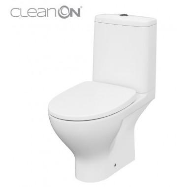 Унитаз-компакт Cersanit Moduo CleanOn 43 011 K116-037 с сиденьем Slim Soft Close дюропласт