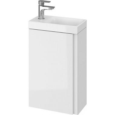 Тумба + Раковина Cersanit MODUO 40 S801-218 (Мебельный СЕТ B08) белый