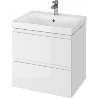 Тумба + Раковина Cersanit MODUO 60 S801-223 (Мебельный СЕТ B12) белый