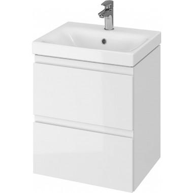 Тумба + Раковина Cersanit MODUO 50 S801-230 (Мебельный СЕТ B10) белый