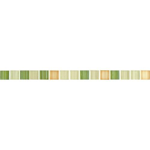 фриз Opoczno Calipso зеленый мозаика 2,8x45