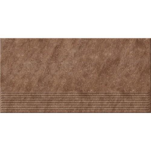 Плитка напольная Opoczno Dry river бронза ступень 29,55x59,4