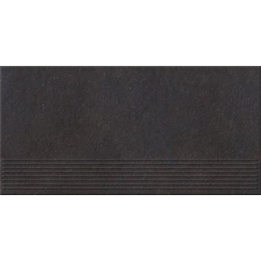 Плитка напольная Opoczno Dry river графит ступень 29,55x59,4