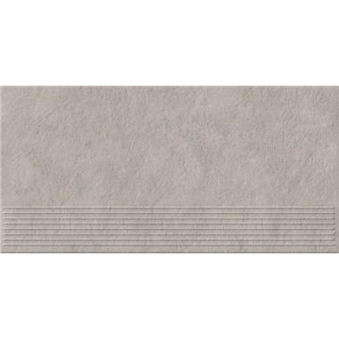 Плитка напольная Opoczno Dry river светло-серый ступень 29,55x59,4