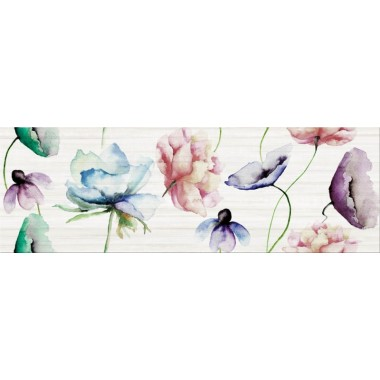 декор Opoczno Elegant Stripes Inserto Flower 25X75