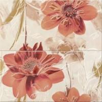 панно Opoczno Lazio white inserto flower 58,3х59,3