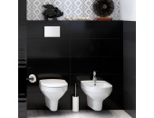Плитка настенная Opoczno Pret a Porter BLACK glossy pillow Structure 25X75