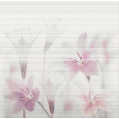Декор Opoczno TENSA WHITE INSERTO FLOWER 59,4X60