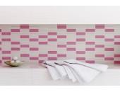 Декор Opoczno TENSA WHITE-PINK MOSAIC 14,7X60