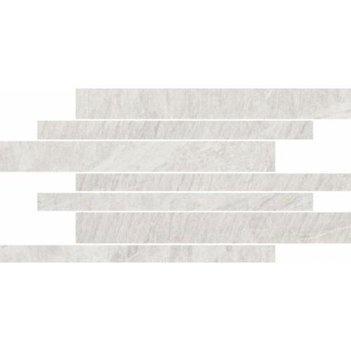 декор Opoczno Yakara белая мозаика 22,2X44,6