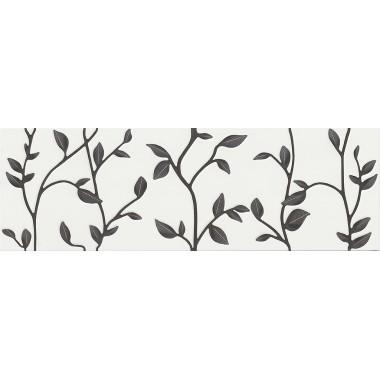 Плитка настенная Opoczno Winter Vine White Inserto Floral 29X89 G1