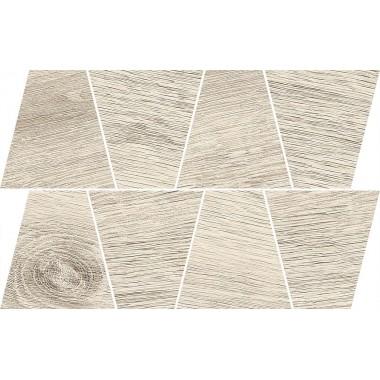 Грес Opoczno Prime White Mosaic Trapeze 19X30,6 TDZZ1251937834