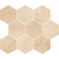 Декор Opoczno Sahara Desert Mosaic Hexagon 28X33,7