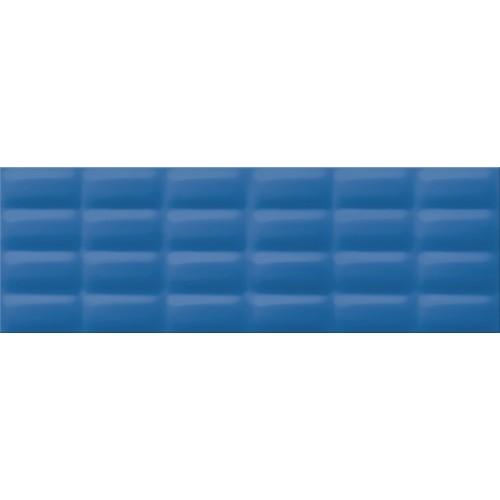 Плитка настенная Opoczno Vivid Colours blue glossy pillow 25X75