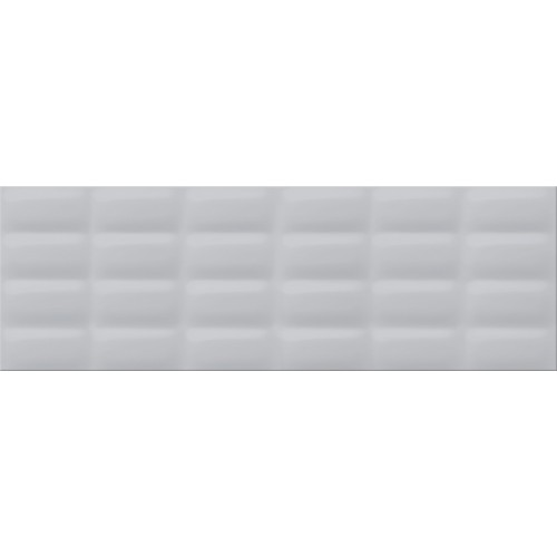 Плитка настенная Opoczno Vivid Colours Grey glossy pillow 25X75