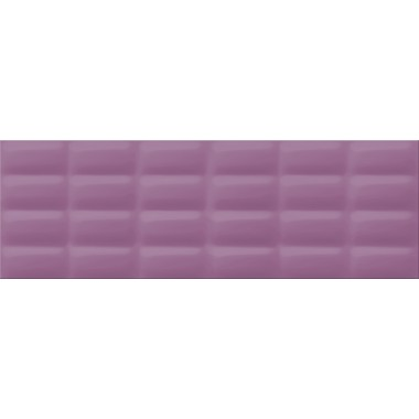 Плитка настенная Opoczno Vivid Colours violet glossy pillow 25X75