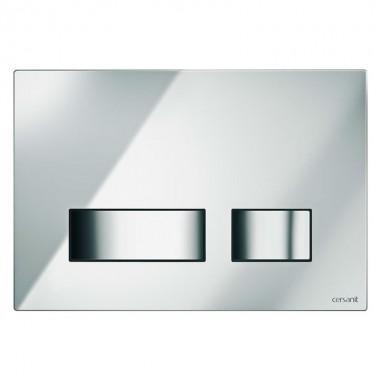 Кнопка Cersanit MOVI для инст. сист. глянцевый хром, S97-026
