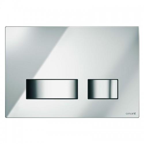 Кнопка MOVI для инст. сист. Cersanit LINK, HI-TECH, блестящая хром, 021638