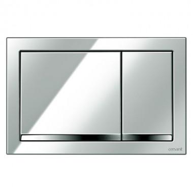 Кнопка Enter для инст. сист. Cersanit LINK, HI-TECH, блестящая хром, K97-366