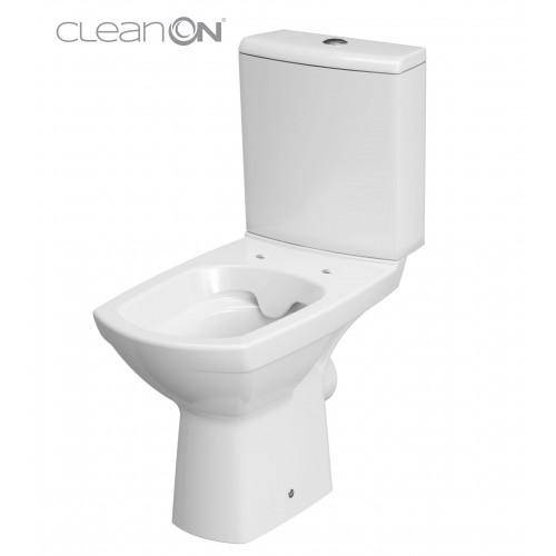 Унитаз-компакт Carina Clean On 11 с сиденьем soft-close