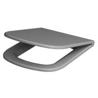 Сиденье для унитаза Cersanit Colour K98-0093 Duroplast, серое