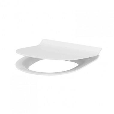 Сиденье для унитаза Cersanit Crea Slim K98-0178 Duroplast, Soft-close, Овальное