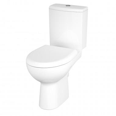 Унитаз-компакт Cersanit NATURE Clean On 011, 3/6 л, + сиденье Duroplast, soft-close белое
