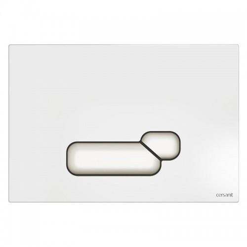 Кнопка Cersanit Actis для инст. системы белая, S97-014