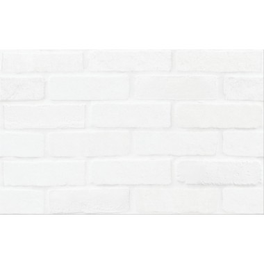 Плитка WHITE BRICKS STRUCTURE 25x40
