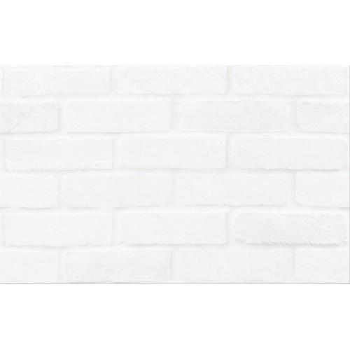 Плитка WHITE BRICKS STRUCTURE 25x40