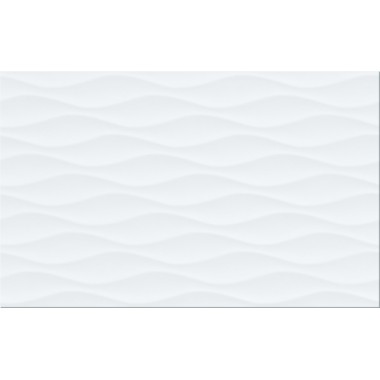 Плитка WHITE WAVE STRUCTURE GLOSSY 25x40
